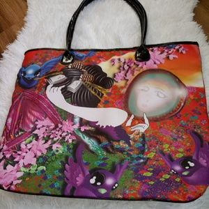 Handbags - Japanese Kimono Handbag